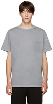Alexander Wang Grey Pocket T-Shirt