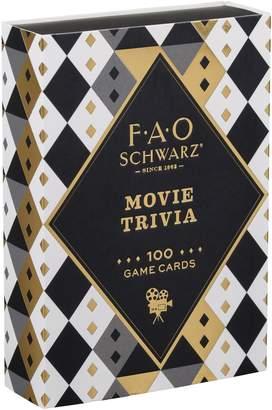 Fao Schwarz Movie Buff Matchbox Trivia Game Cards