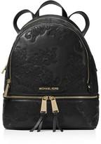 MICHAEL Michael Kors Rhea Medium Lace Zip Backpack