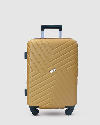 Jett Black Sahara Maze Carry On Suitcase