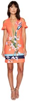 Ted Baker Leea Tropical Oasis Cut Out Tunic Women's Blouse