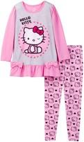 Komar Hello Kitty Sleepwear 2-Piece Set (Toddler Girls)