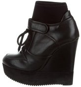 Ruthie Davis Balm Wedge Ankle Boots w/ Tags