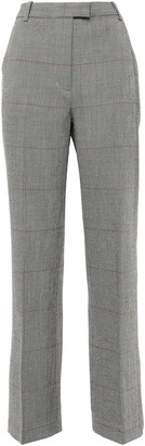 3.1 Phillip Lim Prince Of Wales Checked Wool-blend Straight-leg Pants