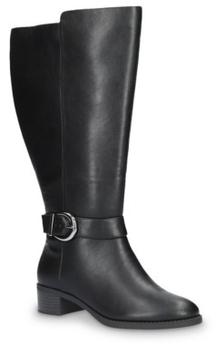 Easy Street Shoes Victoria Extra Wide Calf Riding Boot