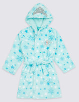 Marks and Spencer Disney FrozenTM Hooded Gown (2-10 Years)