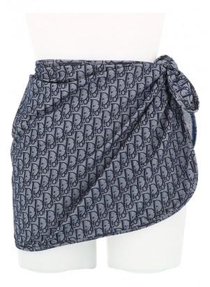 Christian Dior Blue Cotton Swimwear