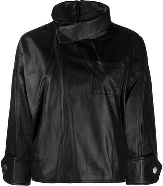 3.1 Phillip Lim stand-collar boxy jacket