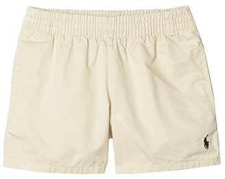 Polo Ralph Lauren Kids Cotton Chino Pull-On Shorts (Toddler) (Basic Sand) Boy's Shorts