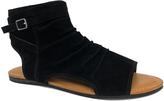 Bamboo Black Bliss Gladiator Sandal
