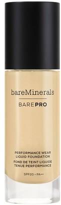 bareMinerals Barepro 24-Hour Full Coverage Liquid Foundation Spf20 30Ml 11 Natural (Light/Medium, Cool/Neutral)