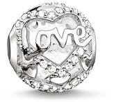 Thomas Sabo Karma Beads Silver & CZ Heart Of Love Charm K0177-051-14