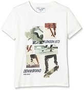 Pepe Jeans Boy's Ariel Teen T-Shirt, White (Off 803)