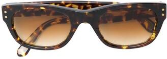 Yves Saint Laurent Pre-Owned Side Logo Sunglasses