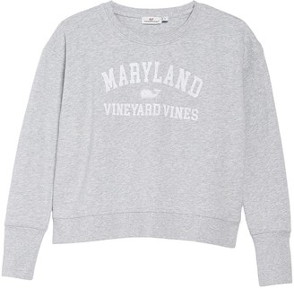 Vineyard Vines Maryland Crew Neck Pullover Sweatshirt