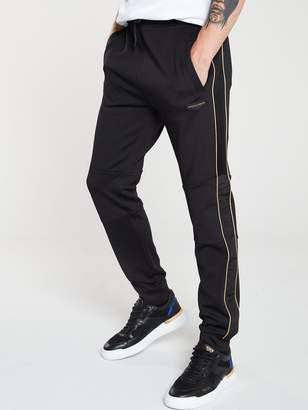Supply & Demand Shine Tracksuit Joggers - Black