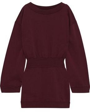 Faith Connexion French Cotton-terry Mini Dress