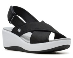 Clarks Women's Cloudsteppers Step Cali Cove Wedge Sandals Women's Shoes