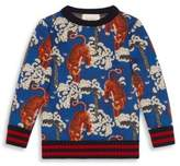 Gucci Little Boy's & Boy's Bengal-Print Sweatshirt