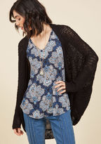 ModCloth Laid-Back Atmosphere Cardigan in L
