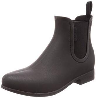 Crocs Women's Leigh Chelsea Rain Boot Black