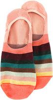 Paul Smith striped hidden socks - men - Cotton/Polyamide/Spandex/Elastane - One Size