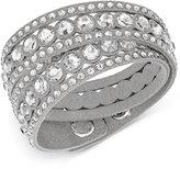 Swarovski Crystal Double Wrap Bracelet