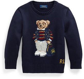 Ralph Lauren Little Boy's & Boy's Polo Bear Sweater