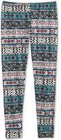 Epic Threads Girls' Tribal-Print Leggings, Only at Macy's