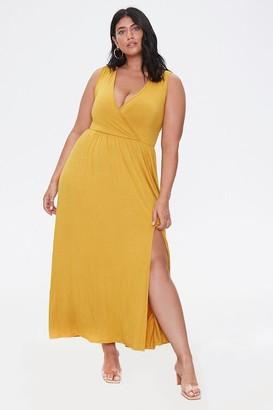 Forever 21 Plus Size Sleeveless Maxi Dress