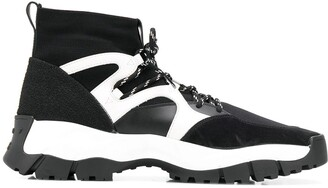 Tod's High-Top Lace-Up Sneakers