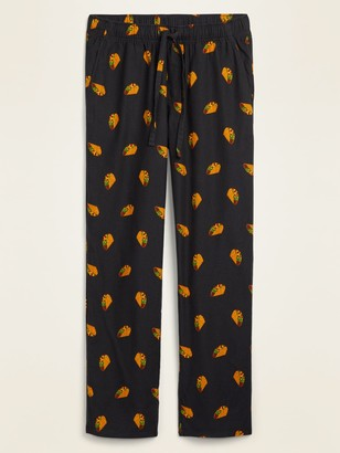 Old Navy Printed Flannel Pajama Pants for Men