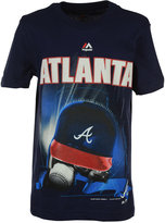 Majestic Kids' Atlanta Braves Kinetic Helmet T-Shirt