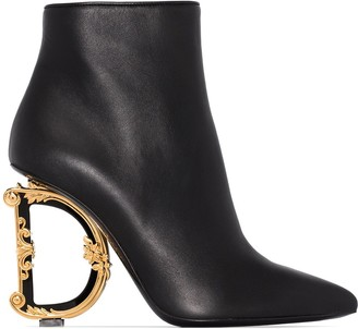 Dolce & Gabbana 105mm ankle boots