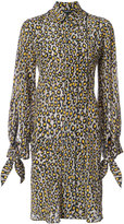 Derek Lam floral print shirt dress - women - Silk - 36