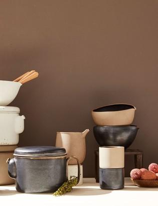Lulu & Georgia Ozu Ceramic Sugar Cup, Matte Clay