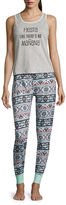 Asstd National Brand Wallflower Pant Pajama Set