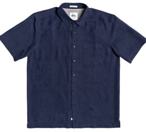 Quiksilver Men's Waterman Kelpies Bay Short Sleeve Shirt