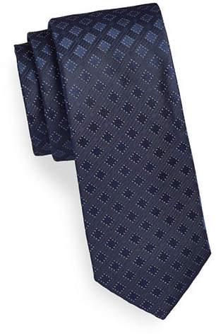 Calvin Klein Tonal Neat Silk Tie