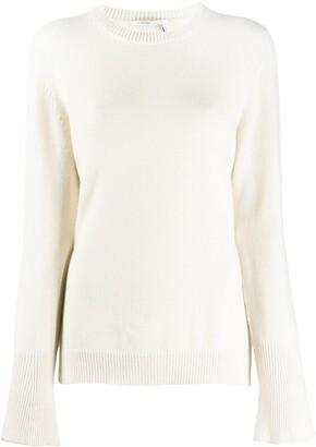 Agnona Bell Sleeve Cashmere Jumper