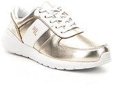 Lauren Ralph Lauren Jay Metallic Lace-Up Sneakers