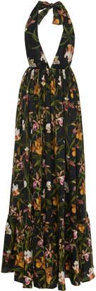Agua Bendita Agua By Oliva Flora Maxi Dress