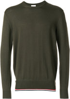 Moncler crew neck sweater - men - Cotton/Virgin Wool - S