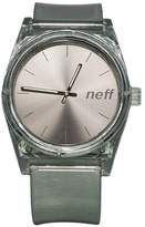Neff NF0237-GREY Men's Grey Silicone Band Grey Dial Smart Watches
