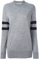 Alexander Wang sleeve stripe sweater