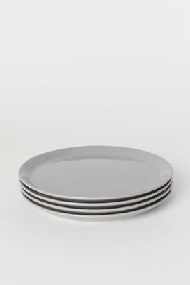 H&M 4-pack Ceramic Plates