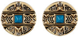 House Of Harlow Maricopa Coin Stud Earrings