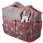 Disney Disneys Minnie Mouse Large Diaper Bag Tote with Floral Patterns, db30197