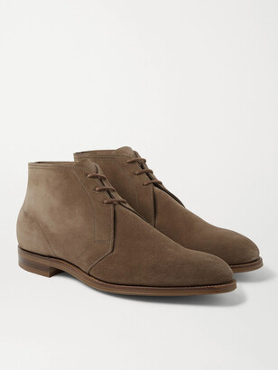 Edward Green Shanklin Suede Desert Boots