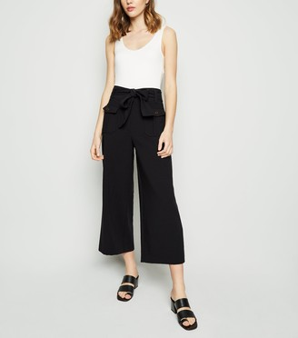New Look Belted Crop Utility Trousers